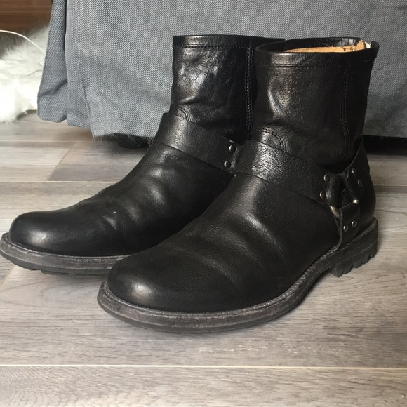 Frye Other - Fry Harness Boot with back zipper.